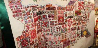 Българка от Япония избродира с шевици картата на България!