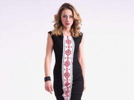 16-годишно момиче пробива в модата с българска шевица