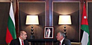 Президентът Румен Радев и крал Абдула ІІ обсъдиха сътрудничество в сферата на отбраната и сигурността
