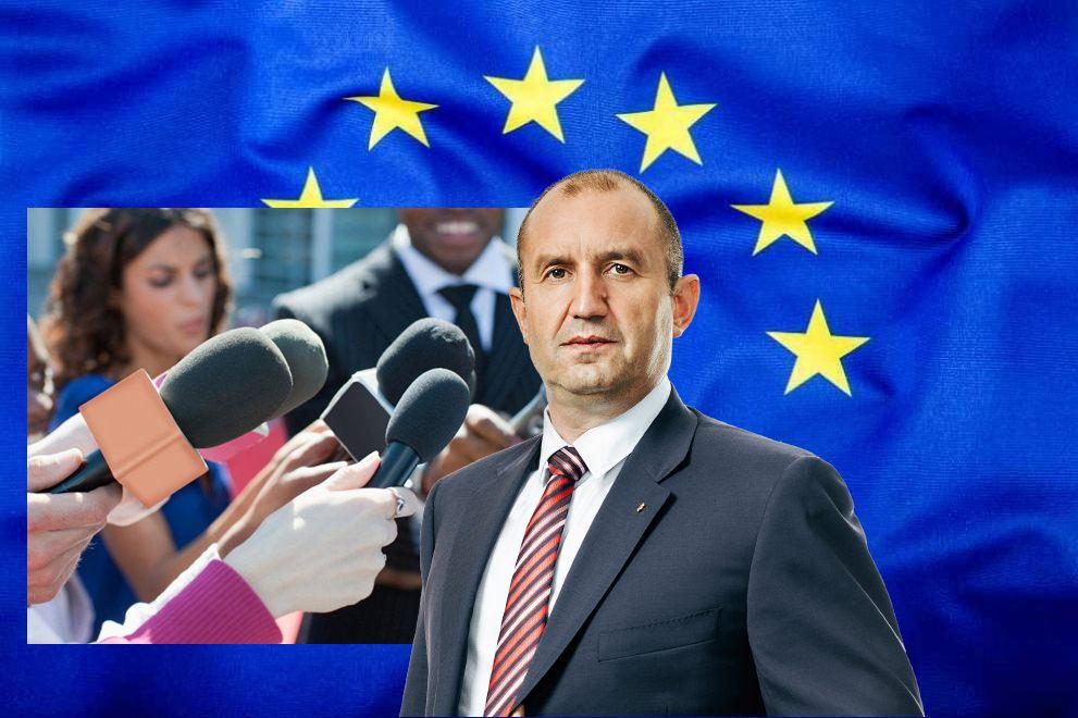 Европейските журналисти към президента Радев: Наложете вето на Закона за защита на личните данни