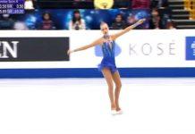 Александра Фейгин записа историческо класиране на Световното по фигурно пързаляне (видео)