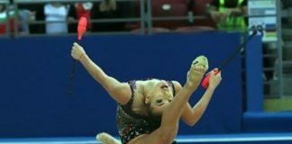Страхотна Катрин Тасева със сребърен медал от многобоя в Киев