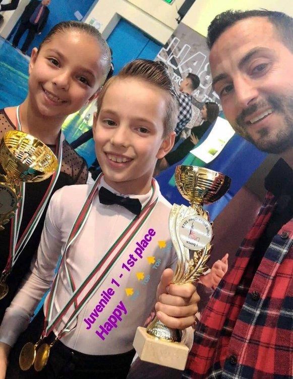 Малките танцьори Божидара и Ангел от Смолян отново със злато от престижен турнир