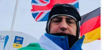 Петър Стойчев с втора световна титла в ледени води