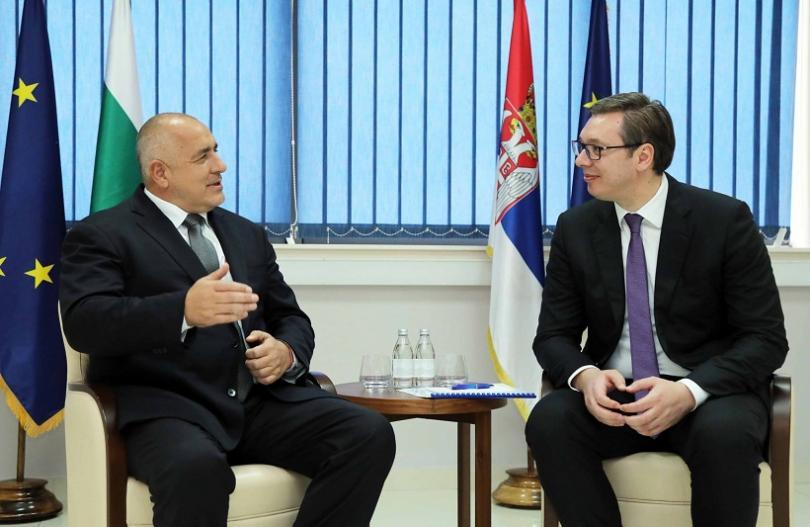 Александър Вучич за Бойко Борисов надявам се че напрежението скоро ще бъде преодоляно