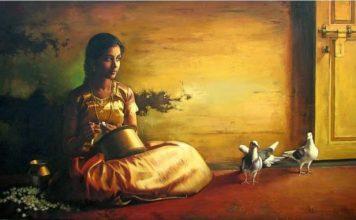 Индийска легенда за жената