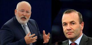 Тимерманс става президент на Еврокомисията, Вебер ще е шеф на Европарламента