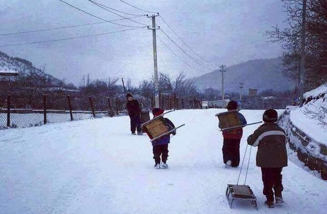 Така беше зимната ваканция на село