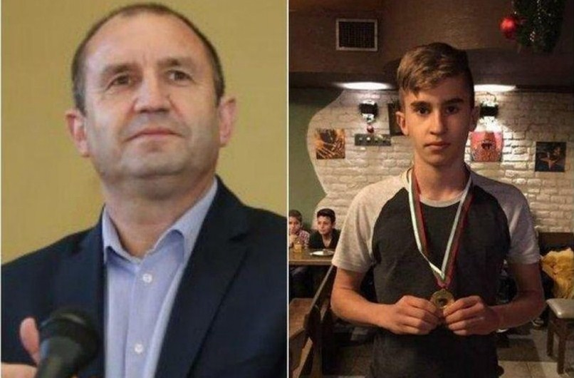 Гордостта на татко: Синът на президента Радев му донесе неистова радост, ето какво направи 15-годишният Георги